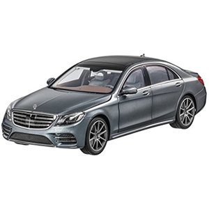 「Mercedes-Benz Collection」 Sクラス セダン 1:18 セレナイトグレー[B66961272]|zebrand-shop