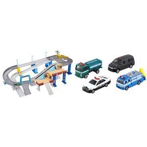 トミカ 2スピードでコントロール. トミカアクション 高速どうろとトミカ 警察車両セットのセット