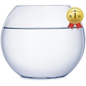 ガラス 丸型 水槽 大 テラリウム 観葉植物 インテリア アクアリウム 金魚鉢 にも(22cm) zebrand-shop