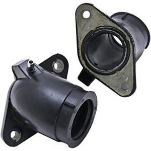 インテークマニホールド 2個 インマニ ドラスタ400 4TR DS4 DSC4 XVS ヤマハ nkr1033|zebrand-shop