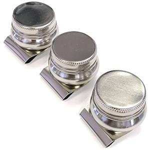 油つぼ ソロバン型 3個セット 油絵 油彩 描画用品[AW-DP8S3](3個)