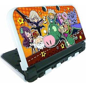 スナックワールド new NINTENDO 3DS LL 専用 カスタムハードカバー 大集合[SNW-01B](Nintendo 3DS)|zebrand-shop