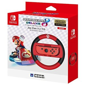 「Nintendo Switch対応」マリオカート8 デラックス Joy-Conハンドル for[NSW-054]|zebrand-shop