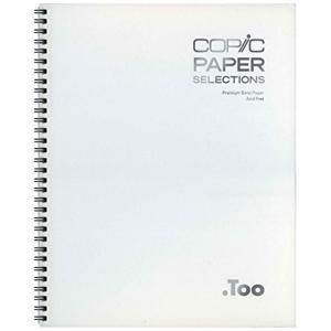 コピック ペーパーセレクション スケッチブック Lサイズ[11612002](ホワイト)