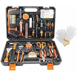 精密ツール ホームツールセット 工具セット103点 作業道具セット ガレージツールセット ツールキット 家庭修理&作業用 日本語説明書付き|zebrand-shop