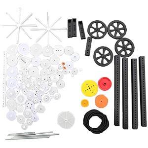 歯車 パーツ ギア セット 修理 DIY 製作 パック ロボット おもちゃ 92個セット(92個) zebrand-shop