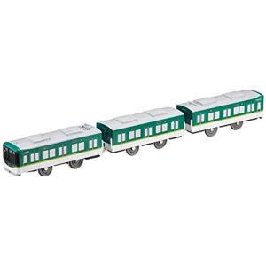 京阪電車10000系のプラレールです。  ・3両編成 ・2スピード ・のせかえシャーシ対応 [セット...
