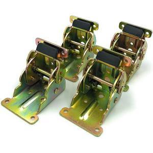 折れ脚金具 折りたたみ テーブル用脚 DIY 4枚セット