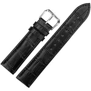 時計バンド ピン 調整 16mm ベルト 牛革 レザー 防水加工 腕時計 工具付き|zebrand-shop