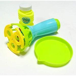 色:バブルガン:簡易パッケージ版 お子様が大好きなシャボン玉。 電動で楽チンなシャボン玉発生機(バブ...