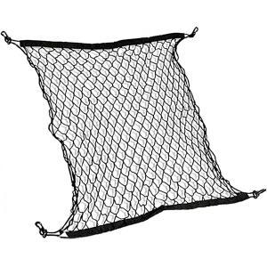 ラゲッジネット カーゴネット トランクネット カー用品 荷物固定 フック付き OD09 大 100×60|zebrand-shop