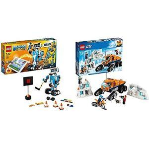 レゴ(LEGO) ブースト レゴブースト クリエイティブ・ボックス と シティ 北極探検 パワフルト...