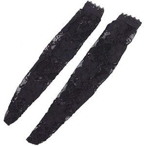 [ルボナリエ ] フィギュア 1/6 衣装 パンツ 素体 ストッキング レディ 女性 タイツ 刺繍 ショート 黒色(ショート, 黒色) zebrand-shop