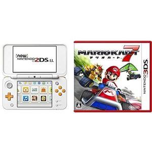 この商品は、「Newニンテンドー2DS LL ホワイト×オレンジ」と「マリオカート7 - 3DS」の...
