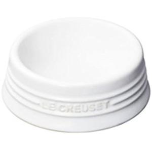 ル クルーゼ ドッグ・ボール M ホワイト ドッグボウル Dog Bowl[chle-020awhi...