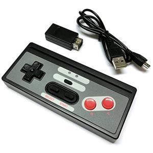 Wii/WiiU/NES Classic Edition 連射機能搭載ワイヤレスコントローラー(Nintendo Wii U)|zebrand-shop