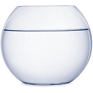 ガラス 花瓶 テラリウム 観葉植物 インテリア アクアリウム 金魚鉢 にも(18cm) zebrand-shop