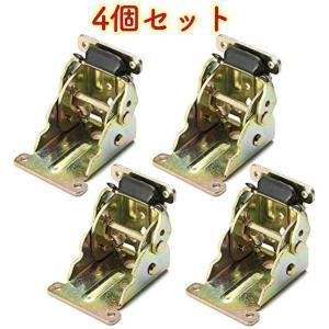 折れ 脚 金具 折りたたみ テーブル用 DIY 4 個 セット(ゴールド, 4個)