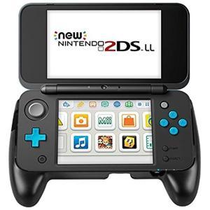 New Nintendo 2DS LL カバー Matchdorニンテンドー2DS LLグリップ?背面ブラケット 超耐磨コントローラー用ハンドル|zebrand-shop