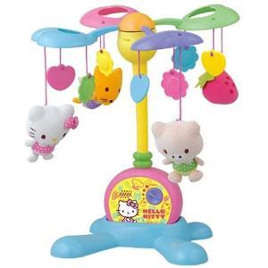 Hello Kitty やすらぎふわふわメリー No.5361[5361]|zebrand-shop