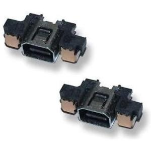 3DS 充電コネクター 電源ソケット2個セット|zebrand-shop