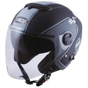 TNK工業 ZJ-3 ヘルメット 頭囲[51008](マットブラック/グレー(ダメージプリント), DEEPFREE (頭囲 58cm〜60cm) zebrand-shop