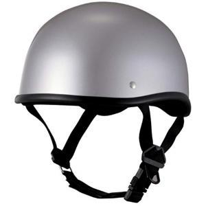 JUQUE ジュクー バイク用 ハーフヘルメット ダックテールDUB シルバー XD001[XD001500](SIL, フリーサイズ) zebrand-shop