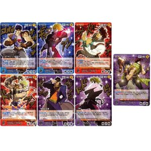 バンダイ クルセイド ジョジョの奇妙な冒険 第1弾 ビザールレア・メタルレア・レア・アンコモン・コモン全61種+特典カード全3種セット
