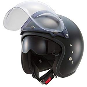 東単 ハイブリッドスモールジェットヘルメット フリー サイズ[TT380](フラットブラック, フリーサイズ) zebrand-shop