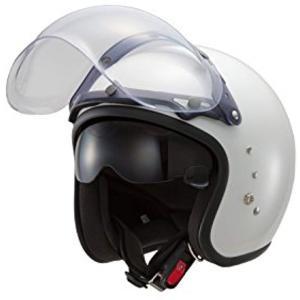 東単 ハイブリッドスモールジェットヘルメット フリー サイズ[TT380](パールホワイト, フリーサイズ) zebrand-shop