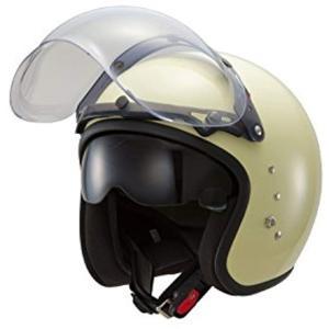 東単 ハイブリッドスモールジェットヘルメット フリー サイズ[TT380](パールアイボリー, フリーサイズ) zebrand-shop
