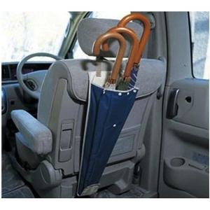 梅雨の季節にピッタリ・車の後部座席で傘を収納しやすくします。   ポケット・ケース・カバー