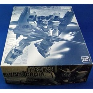 JAF-CON9限定 MG 1/100 スーパーガンダム メッキ&クリアー版 プラモデル  43164-74161