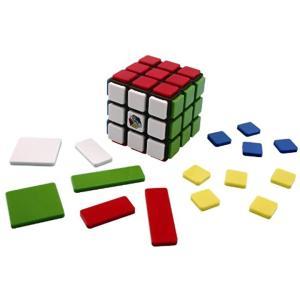パーツを付けて難易度UP.. ブロックパーツを付けるとパズル性が変わる新感覚ルービックキューブ.. ...