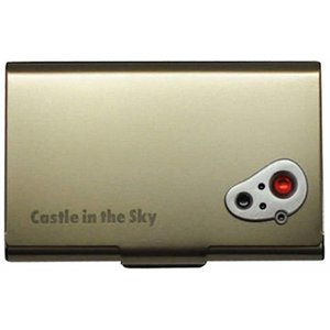 天空の城ラピュタ メタルカードケース アンティーク[4970381312145] zebrand-shop