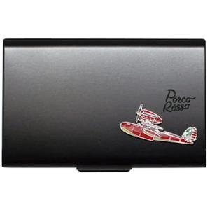 紅の豚 メタルカードケース[43216-52705](ブラック) zebrand-shop