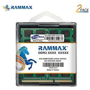 8GBメモリ 2枚組 DDR3 1600 PC12800 DUAL 204pin DDR3-SO-DIMM ノート[RM-SD1600-D16GB]|zebrand-shop