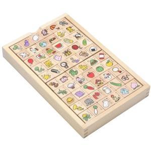 [商品の特長]立方体のつみきの6面にひらがなのことばを書いた、文字つみきのセットです。 楽しく遊びな...