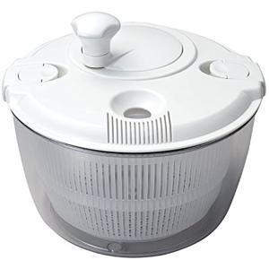 野菜 水切り 器 たっぷり サラダ スピナー マイティ[C-66]