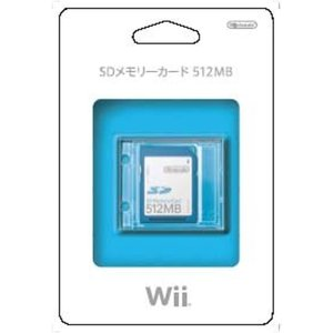 SDメモリーカード 512MB