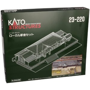 Nゲージ ローカル駅舎セット 鉄道模型用品[23-220]|zebrand-shop
