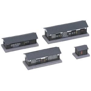 Nゲージ 構内建物セット 鉄道模型用品[23-226]|zebrand-shop