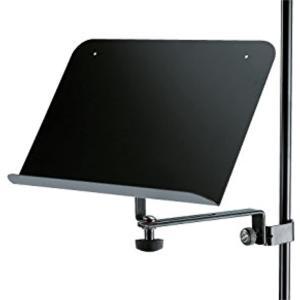 クランプ式譜面台 115/2 カラー:ブラック(ブラック)|zebrand-shop