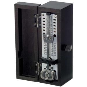 メトロノーム スーパーミニ 木製ブラックmodel No.880260 903032(ブラック)の画像