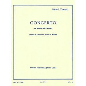 トマジ : 協奏曲 サクソフォン・コンチェルト サクソフォン、ピアノ ルデュック出版 AL20705の画像