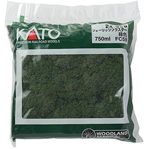 フォーリッジ・クラスター 緑色 FC58 ジオラマ用品[24-320]|zebrand-shop