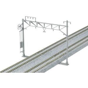 Nゲージ 複線ワイド架線柱 10本入 鉄道模型用品[23-061]|zebrand-shop