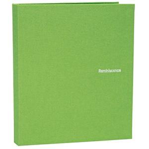 SEKISEI アルバム ポケット ハーパーハウス レミニッセンス ミニポケットアルバム 40枚収容 XP-40P(グリ-ン, ハガキ)|zebrand-shop
