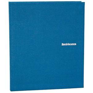 SEKISEI アルバム ポケット ハーパーハウス レミニッセンス ミニポケットアルバム 40枚収容 布 XP-40P(ブルー, ハガキ)|zebrand-shop