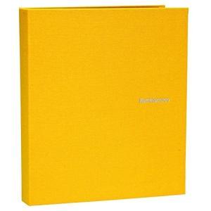SEKISEI アルバム ポケット ハーパーハウス レミニッセンス ミニポケットアルバム 40枚収容 XP-40P(イエロー, ハガキ)|zebrand-shop